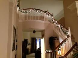Banister Decorations For Christmas Project Light Up Your Stairway Banister