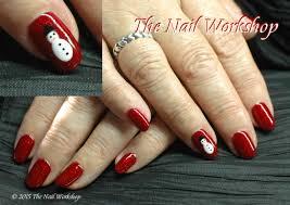 stunning christmas nail art