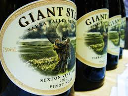 giant drink wine words and videotape london wine fair giant steps in 2010