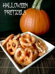 Easy Halloween Snacks To Make by White Chocolate Pretzel Recipe Perfect For Halloween Pretzels