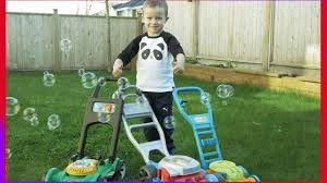 toy lawn mowers for kids u0026 bubbles little tikes gas u0027n go mower