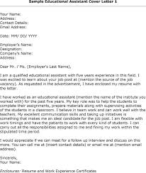 cover letter for a teaching assistant teaching assistant cover
