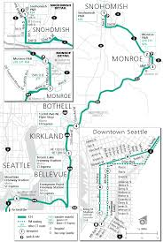 Metro Green Line Map by Schedules
