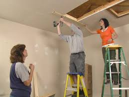 how to install an attic ladder how tos diy folding attic stairs