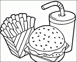 coloring pages fascinating food coloring pages 28482 page 07