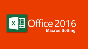 how to enable macros in excel 2016 youtube