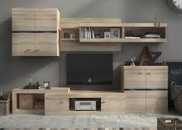 Wohnzimmerschrank Beleuchtung Günstige Wohnwände Mit Beleuchtung Gunstige Wohnwande Faszinierend