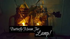 butterfly mason jar lamp 6 steps with pictures