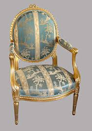 chaise dor e chaise louis fabulous refection chaise louis xvi fer a cheval tissu