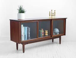 modern glass buffet cabinet mid century glass credenza modern wood buffet cabinet dresser