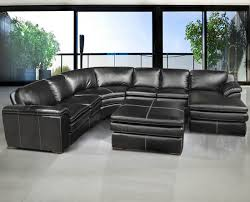 Black Sofa Sectional Fabulous Black Sectional Leather Sofa Incredible Small Leather