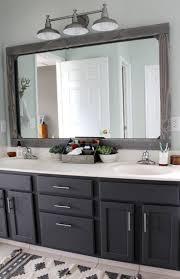 bathroom mirror frame ideas bathroom mirror ideas purplebirdblog com