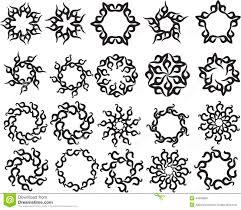 sun tribal tattoo tattoo sun flame tribal design stock vector image 44950860