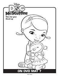 doc mcstuffins free printable coloring pages coloring