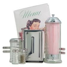diner tabletop 50s style accessories set kitchen gift sets