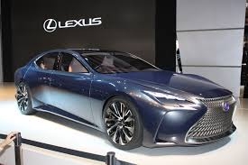 lexus cars 2015 lexus lf fc concept previews next ls fuel cell future live