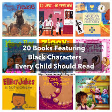20 children u0027s books featuring black characters every child should