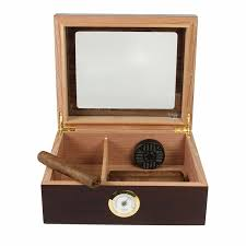 Humidor Woodworking Plans Pdf by Amazon Com Quality Importers Desktop Humidor Capri Glasstop