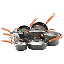 target rachel ray cookware black friday amazon com rachael ray hard anodized nonstick 10 piece cookware