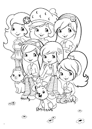 Strawberry Shortcake Halloween Coloring Pages by Free Strawberry Shortcake Coloring Pages U2013 Art Valla