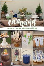 themed baby shower an adventure theme baby shower a cing and outdoorsy baby