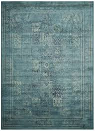 Safavieh Vintage Rug Collection Safavieh Vintage Vtg127 2220 Turquoise And Multi Area Rug Free