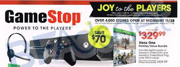 gamestop offers xbox one assassin s creed bundle for only 330 on