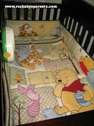 Pooh Crib Bedding Winnie The Pooh Themed Nursery