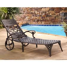 picturesque home styles biscayne outdoor chaise lounge chair walmart