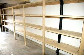 Free Standing Garage Shelves Plans by I Used Your Plans To Build Shelves Above My Garage Door And They
