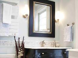 how to frame bathroom mirrors hytv