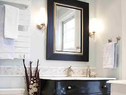 Framing Bathroom Mirror by Bathroom Mirror Frame Out Diy Youtube How To Frame A Bathroom