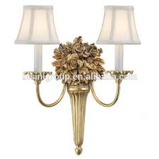 Vintage Brass Wall Sconces Victoria 2 Lamp Antique Brass Wall Light For Bedroom Vintage Brass