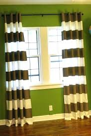 Black And White Stripe Curtains Gray Striped Curtains Stunning Black And Striped Curtains