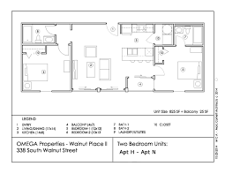 4 Unit Apartment Building Plans Walnut Place Ii Omega Properties