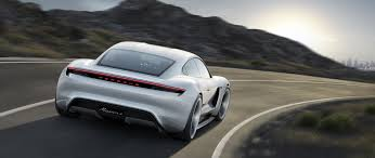 porsche takes aim at tesla with a stunning electric concept wired