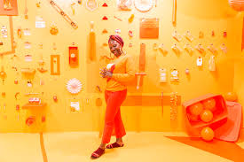 Orange Colors Names Color Factory 12 000 Square Feet Of Color Experiences In San