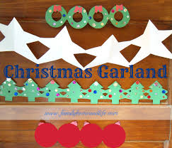 family home and life christmas garland great tutorial on creating