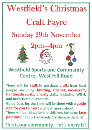 westfield christmas craft fair big local my radstock my