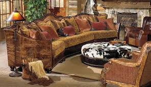 Western Couches Living Room Furniture Western Style Cowhide Upholstery Sofa Leather Chairs Cowhide