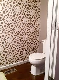 Bathroom Wall Stencil Ideas Best 25 Stenciled Accent Walls Ideas On Pinterest Wall Painting