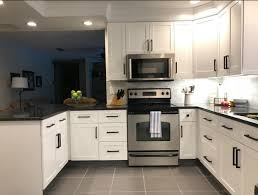 white kitchen cabinets with black drawer pulls pin on kitchen remodel