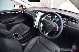 tesla inside engine 2016 tesla model s 90d 7 1 review video performancedrive