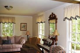 custom window curtain valances for living room hanging scarf