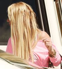 Proper Hair Extensions by Britney Spears Reveals Dodgy Hair Extensions As She Steps Out In La
