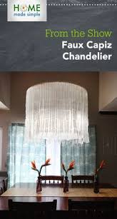 Faux Capiz Chandelier Funky Feather Lampshade You Can Make Out Of A Paper Lantern Looks
