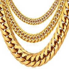 necklace gold man images Gold thick cuban chains deal man jpg