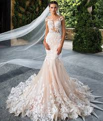 brautkleider chagnerfarben robe de mariage casamento backless chagner spitze