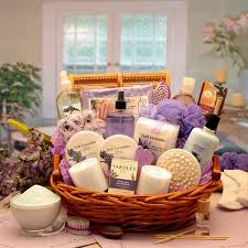 shop by gift type spa gift baskets page 1 say thank you