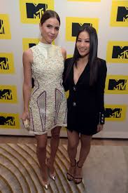 arden cho and shelley henning at mtv press junket and cocktail
